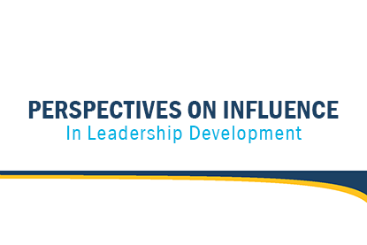 Perspectives on Influence in Leadership Development article cover