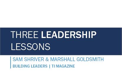 Three Leadership Lessons