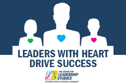 Leaders with Heart infographic cover