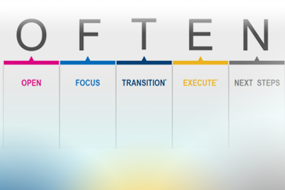 O.F.T.E.N. acronym explanation in chart form
