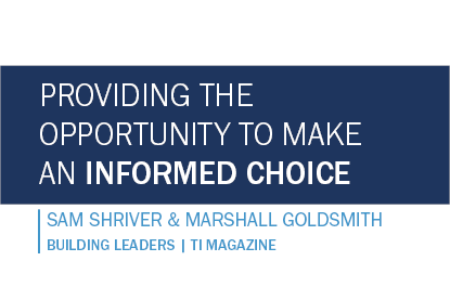 Providing the Opportunity to Make an Informed Choice
