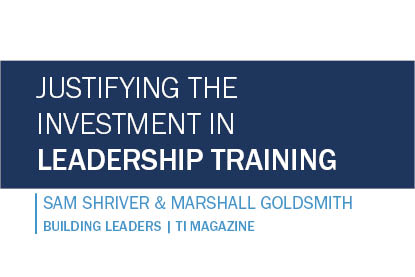 Justifying the Investment in Leadership Training