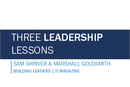 Three Leadership Lessons