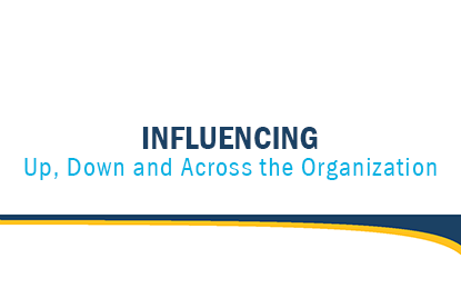 Influencing Up, Down and Across the Organization article cover