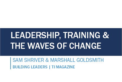 Leadership, Training and the Waves of Change