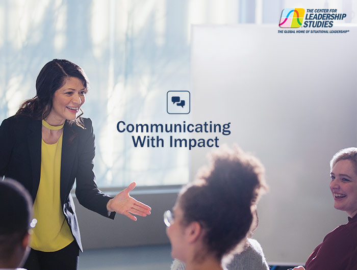 Communicating with Impact Course Flyer