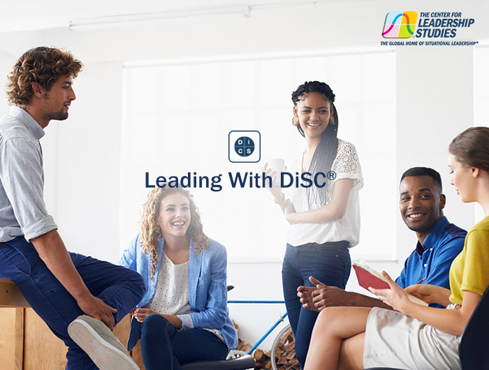 Leading with DiSC training course flyer cover