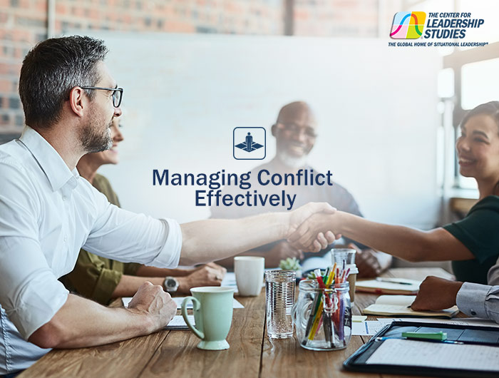 Managing Conflict Effectively Course Flyer