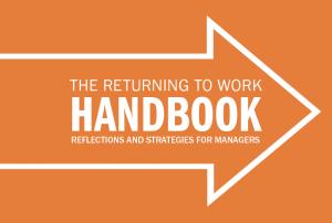 Returning to work handbook cover