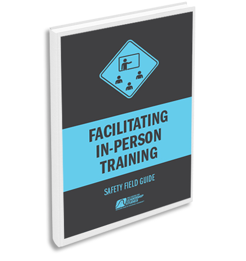 Facilitating In-Person training safety guide
