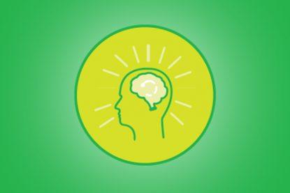Featured header, lime green expert power