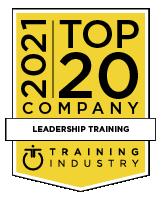 2021 Top 20 Leadership Training Companies Award